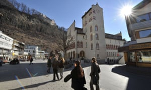 Liechtenstein's capital, Vaduz.