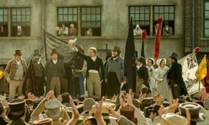 An event that reshaped the political landscape of Britain … Mike Leigh tackles Peterloo.