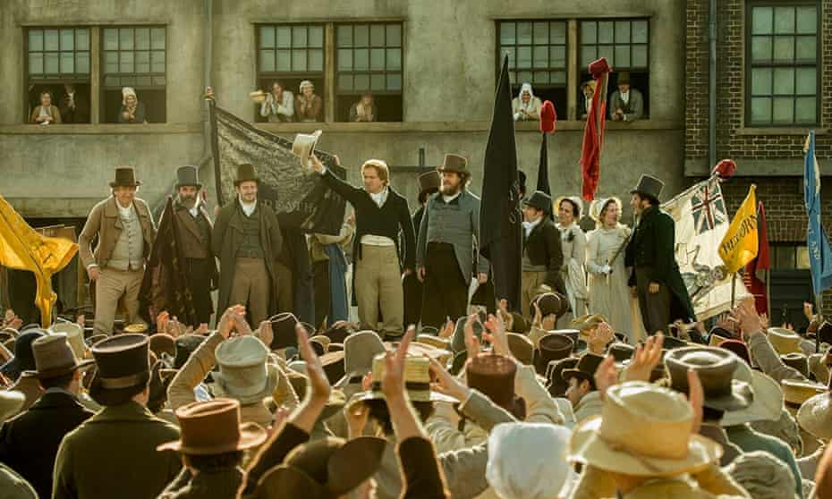 A still from Peterloo, directed by Mike Leigh, which will be released later this year.