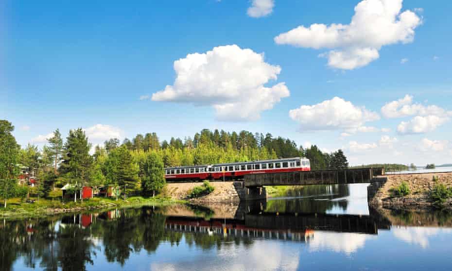 Sweden's Inlandsbanan railway