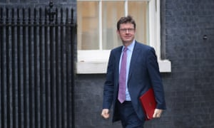 Business secretary Greg Clark arrives at Downing Street