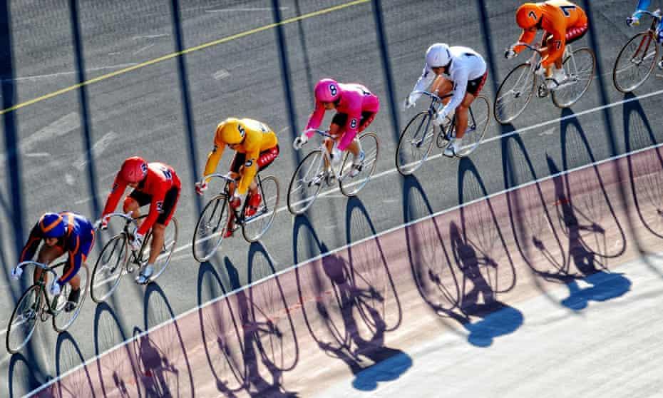 Keirin racing in Tokyo