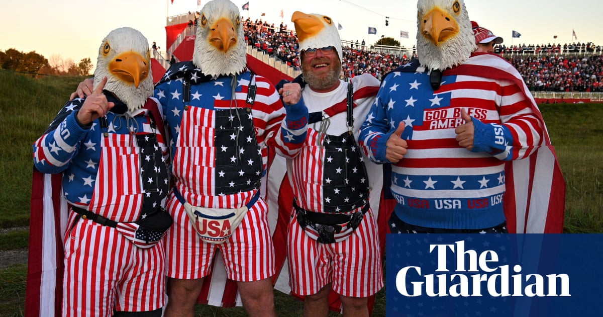 Partisan US crowd makes most of Ryder Cup revelry at Whistling Straits