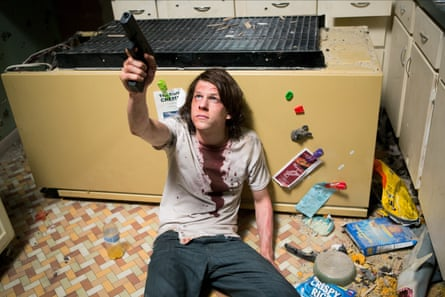 Jesse Eisenberg in the 2015 film American Ultra