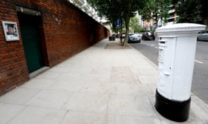A postbox near Lord's