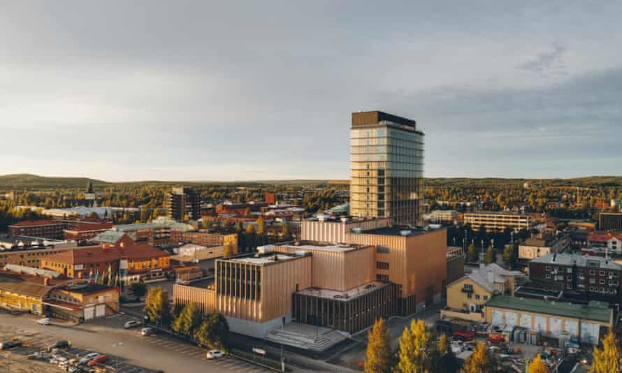 Stronger than steel… the Sara Cultural Center was at the top with the Wood hotel