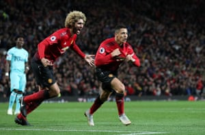Alexis Sánchez and an all-too-rare high point for Manchester United.