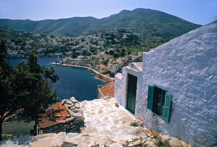 Yialos Port, Symi.