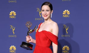 Rachel Brosnahan of The Marvelous Mrs Maisel won Outstanding Lead Actress in a Comedy Series.