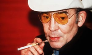 Hunter S Thompson in 1998.