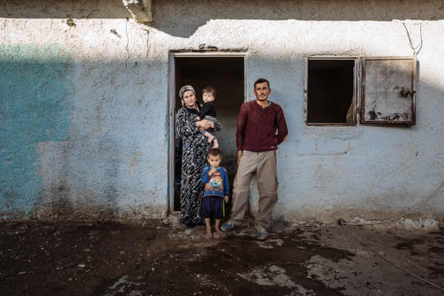 Having fled the war in Syria, Zonan and Mustapha's family live in a former stable for horses which they share with other families in Salinufra, Turkey.