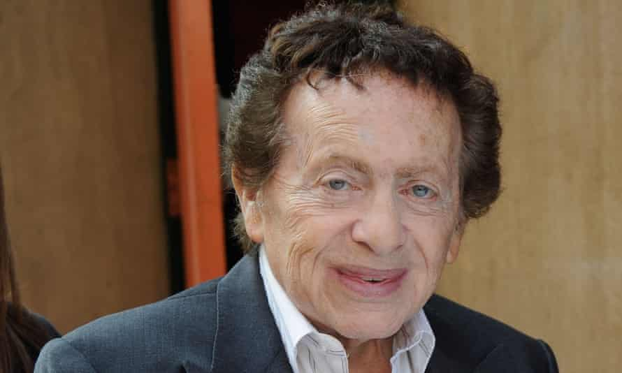 Yiddish inflections ... Jackie Mason in New York City in 2012.