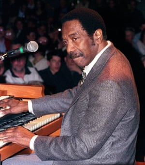 American jazz pioneer Jimmy Smith.