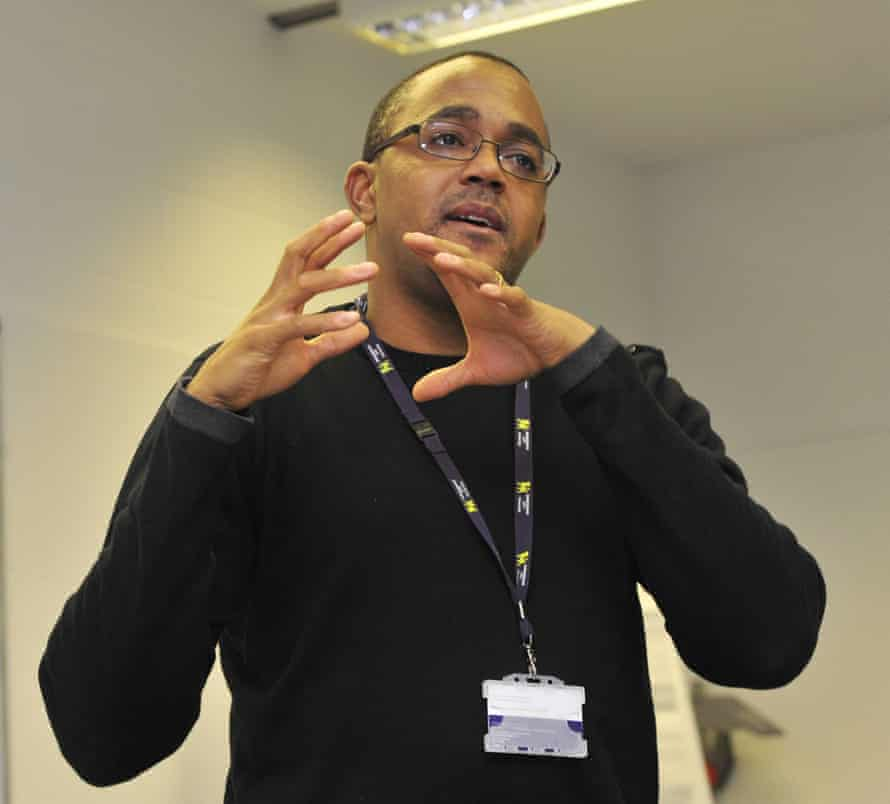 Kehinde Andrews teaching at Birmingham City University