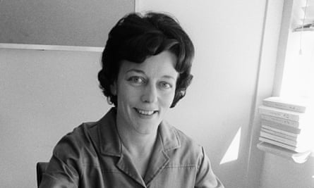 Monica Sims in 1964, when she became editor of Woman's Hour.