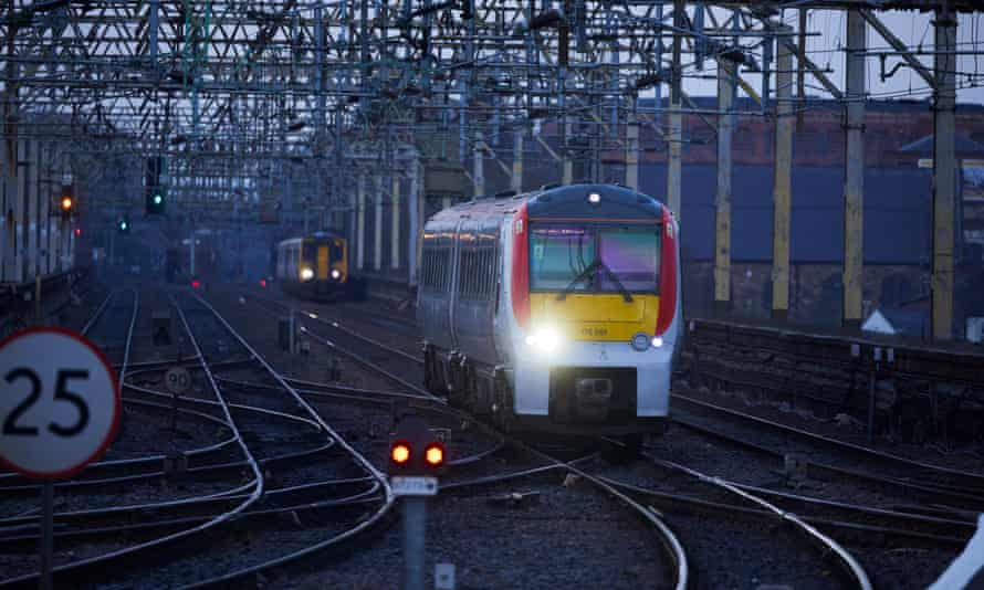 Trains at Stockport