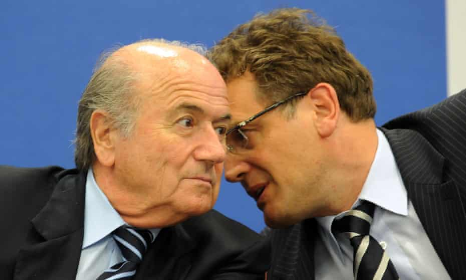 Sepp Blatter and Jerome Valcke in 2009