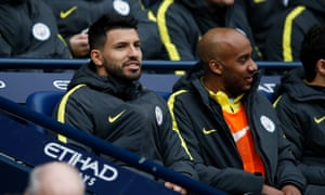 Agüero has been on the bench for the last two Man City games, prompting questions about his future.