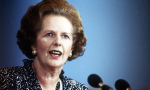 Margaret Thatcher in 1986