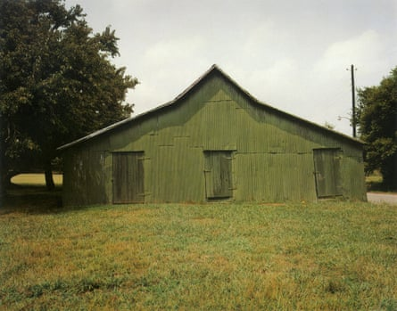 Green Warehouse, 1978, by William Christenberry