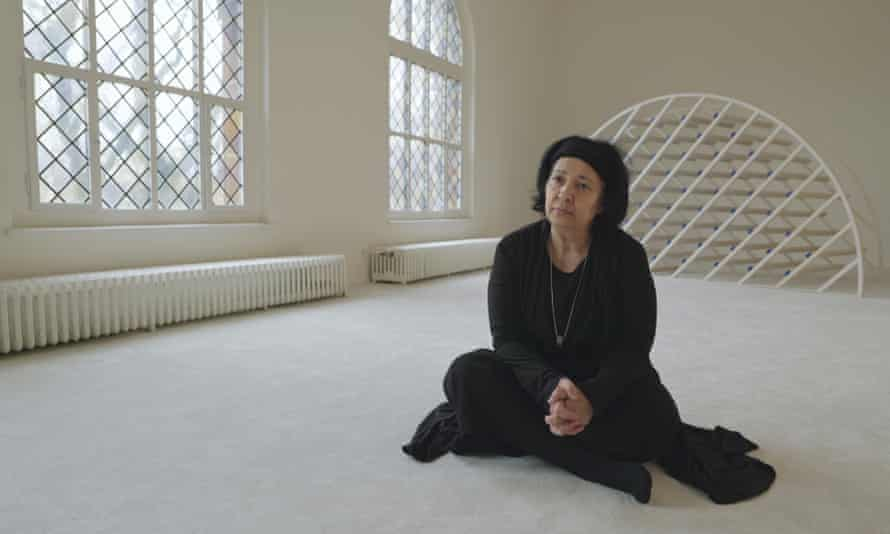 Seyran Ateş visits the Ibn Rushd-Goethe mosque in Berlin, in the documentary Sex, Revolution and Islam.