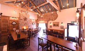 Dining room at The Royal, Heysham