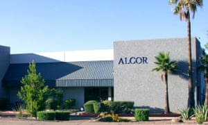The Alcor Life Extension Foundation in the US