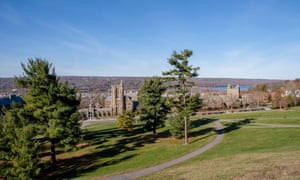 Mennen Hall and Campus, Cornell University, Ithaca