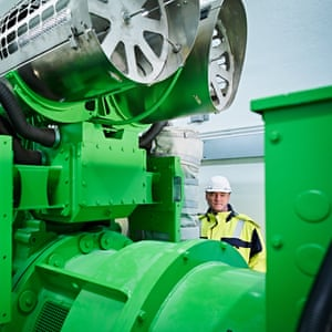 New gas motor; Power plant; Düsseldorf; Henkel; production site