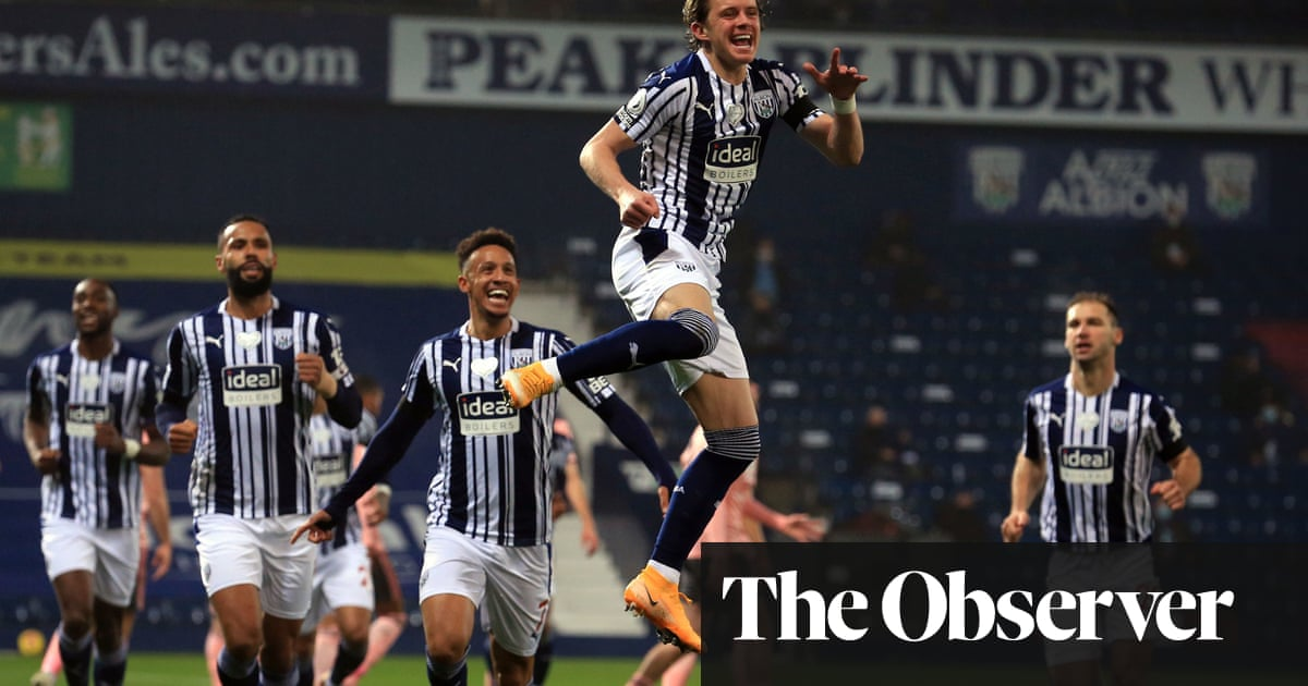 West Brom out of bottom three after Gallagher sees off Sheffield United