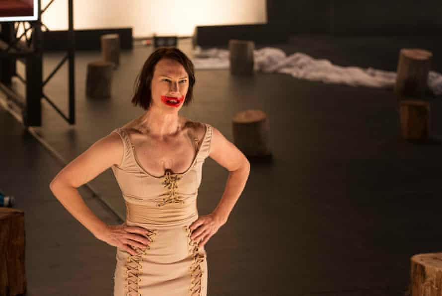 Belinda McClory in the Australian premiere of Revolt. She Said. Revolt Again.