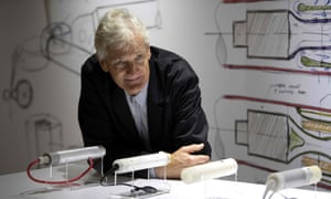 Founder of the Dyson company, designer James Dyson.