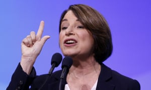 Amy Klobuchar: 'it's just another example of the president treating foreign policy like it's some kind of gameshow.'