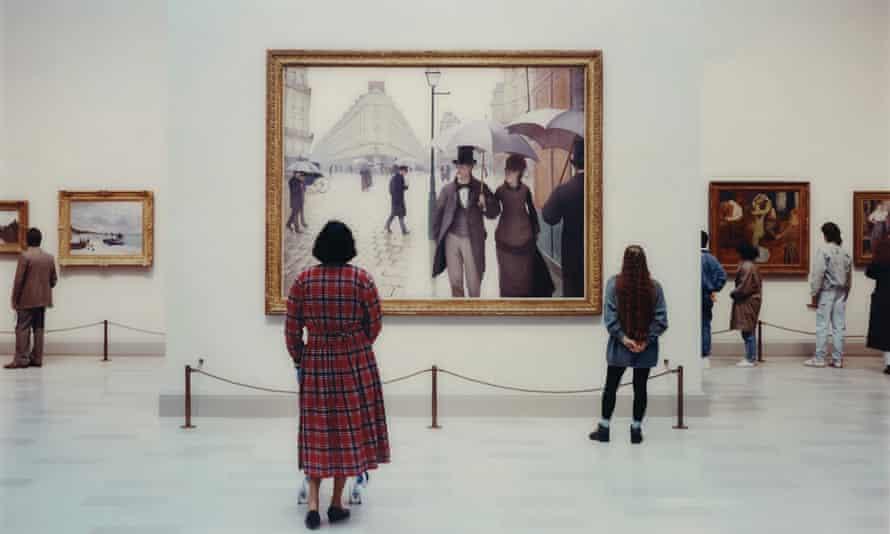 Thomas Struth's Art Institute of Chicago II, Chicago (1990)