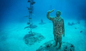 new museum of underwater art on Australia's Great Barrier Reef