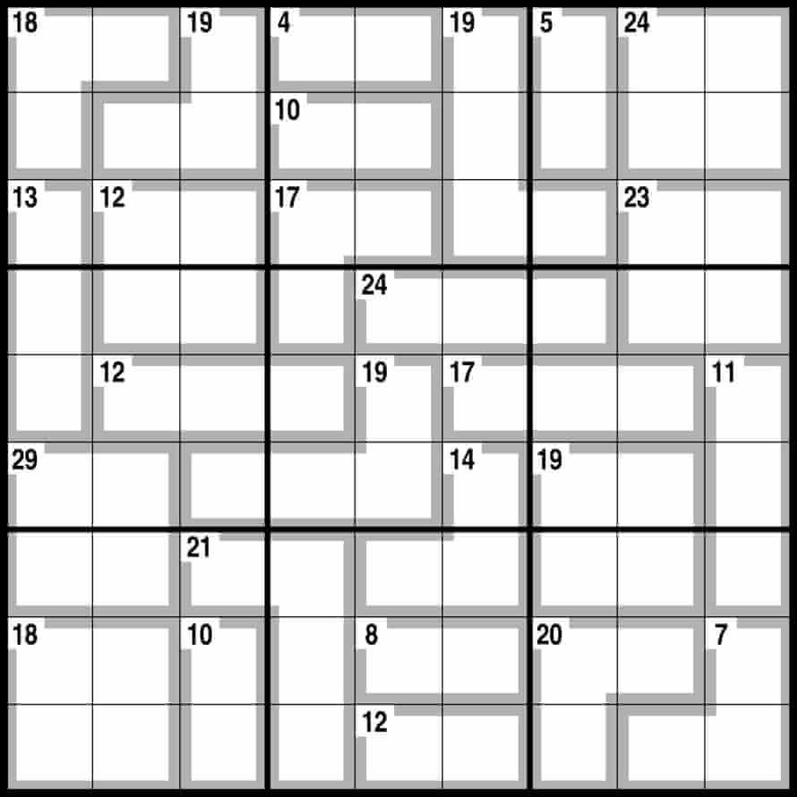 Observer killer sudoku 22.11