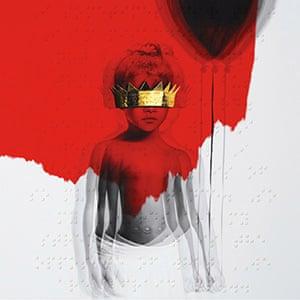 Rihanna- Anti cd cover