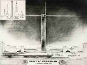 Tower of Civilization, Los Angeles World Fair