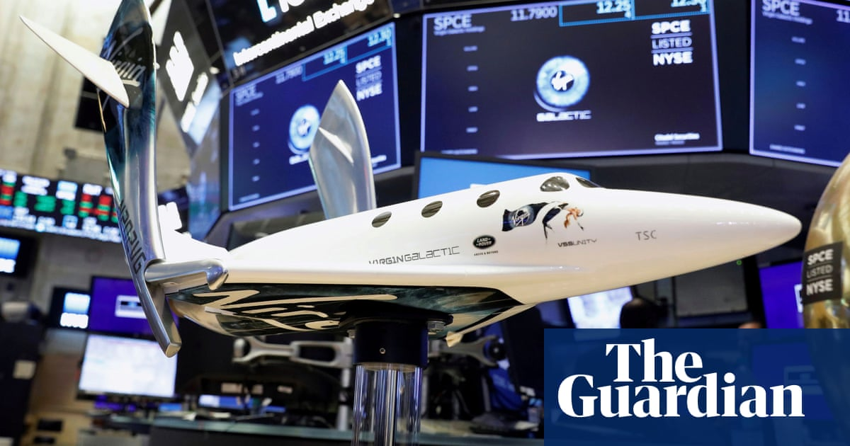 Richard Branson sells third stake in Virgin Galactic to prop up other firms