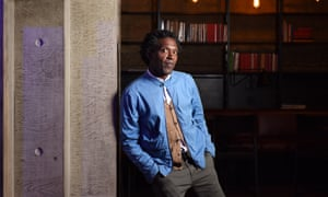 'We were meant to be ashamed of our experiences' … Lemn Sissay at the Royal Court, London.