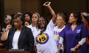 Laphonza Butler calls for minimum wage increase