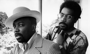 Teddy's songwriters Leon Huff and Kenny Gamble.