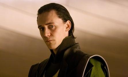 Heartbroken yet icily evil … Tom Hiddleston as Loki in Thor (2011) .