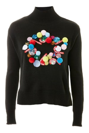 Selling fast, get you hands on this 3D wreath style while you still can, £55, topshop.com