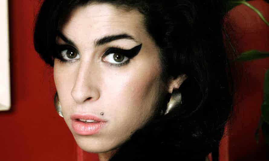 Heartbreak and sass ... Amy Winehouse.