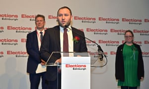 Ian Murray at his Edinburgh South election count last month.