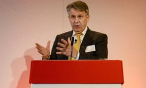 Ben van Beurden, the Shell chief executive, delivers the company's second quarter results in London.