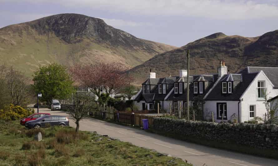 Village of Lochranza on  Isle of Arran