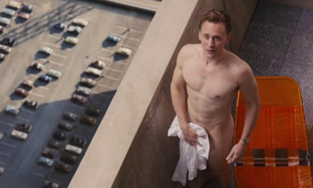 Well-judged performance … Tom Hiddleston in High-Rise.