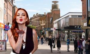 Lindsay Lohan sending all her love to Kettering